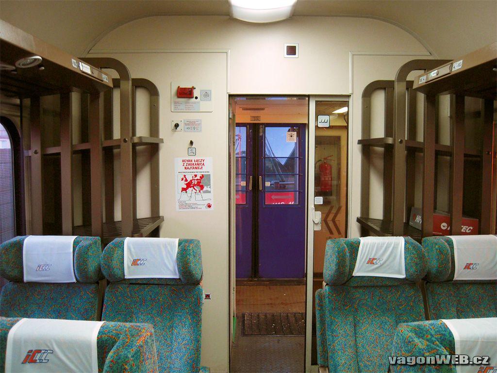 сидячий вагон поезда IC-105 - подарок для воров